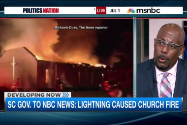 South Carolina church fire investigation