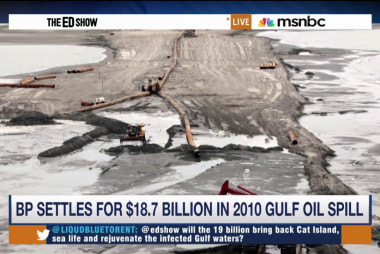 Massive settlement reached in BP spill