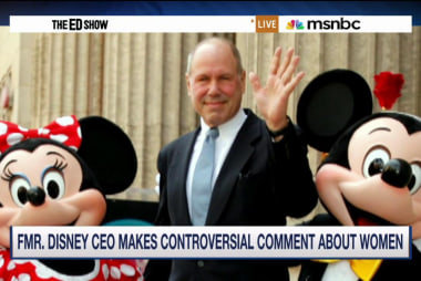Fmr. Disney CEO makes controversial...