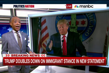 Donald Trump doubles down on immigration
