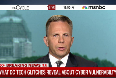 What tech glitches reveal on cyber...