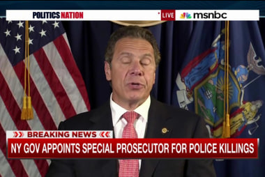 NY special prosecutor for police killings?