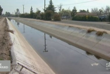 'Disrupting' the California water crisis?