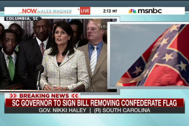 Governor signs bill removing Confederate flag