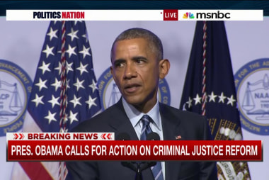POTUS calls for action on criminal justice