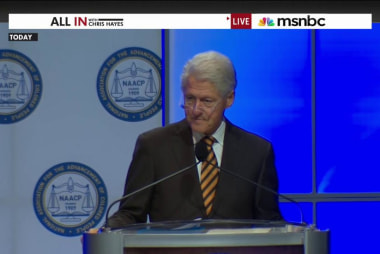 Why did Bill Clinton basically apologize...