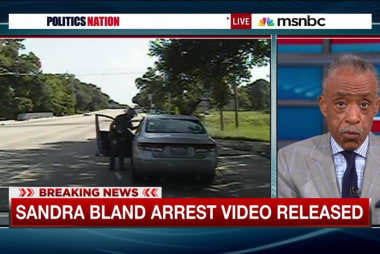 Sandra Bland traffic stop video released