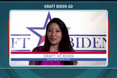 Supporters are 'ridin' with Biden' in 2016