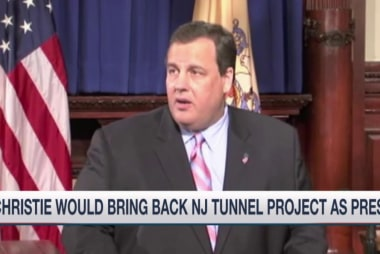 Chris Christie re-evaluates NJ tunnel project