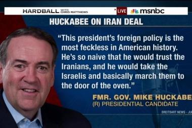 Huckabee, GOP attack Iran deal