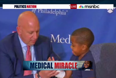Medical miracle: Boy gets hand transplant