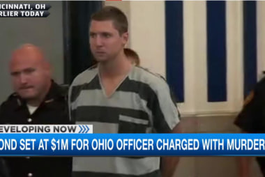 Ohio campus cop pleads not guilty to murder
