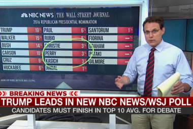 Trump leads in new NBC/WSJ poll