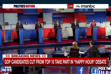 Who stood out in the 'Happy Hour' debate?