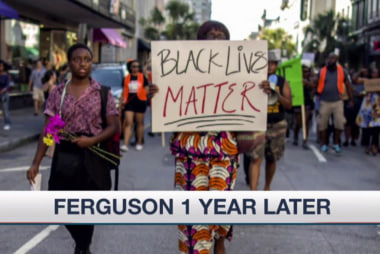 The changes one year after Ferguson