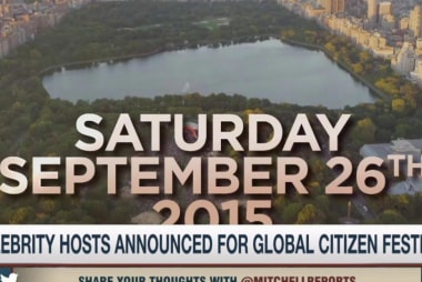Hosts named for Global Citizen Festival