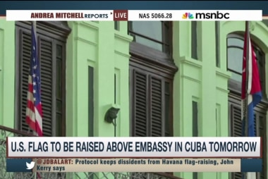 US flag set to be raised at embassy in Cuba