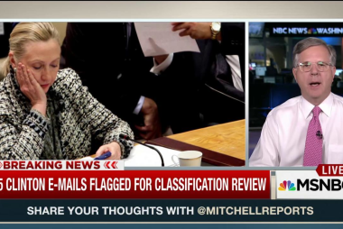 Hundreds of Clinton emails flagged for review