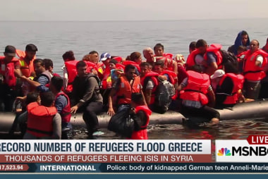 Record number of refugees flood Greece