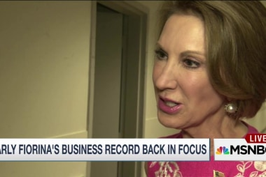 Carly Fiorina's rise invites new scrutiny