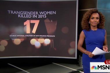 17 trans women killed since start of 2015