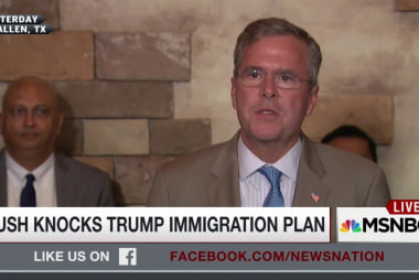Bush knocks Trump's immigration plan