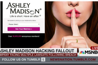 Ashley Madison hacking fallout