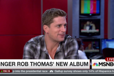Rob Thomas on music and inspiration