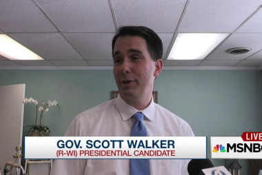 Scott Walker can't 'out-Trump' Trump
