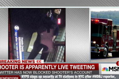 Report: suspect live tweeting shooting