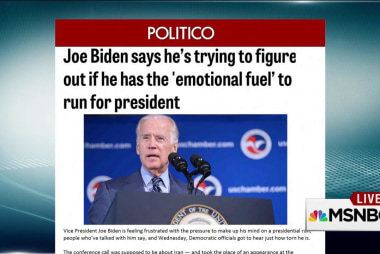 2016 Joe Biden momentum is building