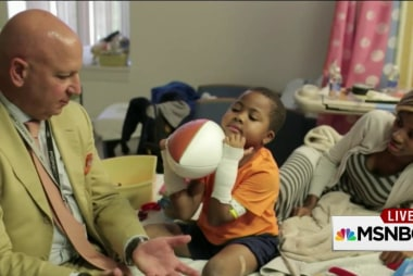 Zion Harvey receives double hand transplant
