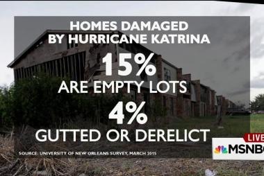 The Gulf Coast rebuilding effort isn't over