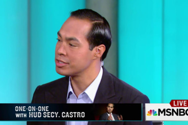 Julian Castro on public housing in New...