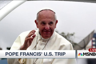 The countdown is on for Pope Francis's visit