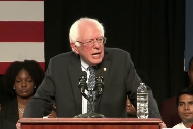 Sanders closes gap with Clinton in polls
