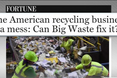 Business of recycling in bad shape