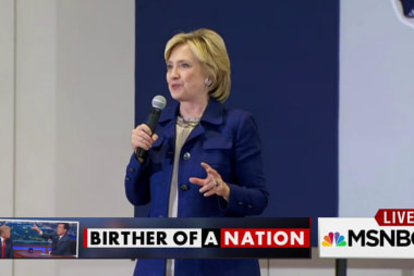 Is Hillary Clinton the 'original birther?'
