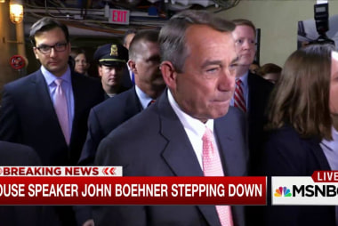 The Boehner bombshell