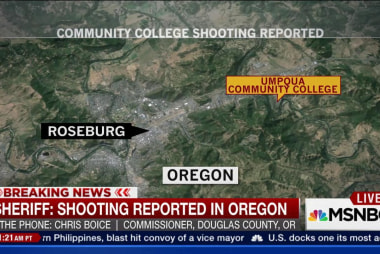 Active shooter at Oregon community college