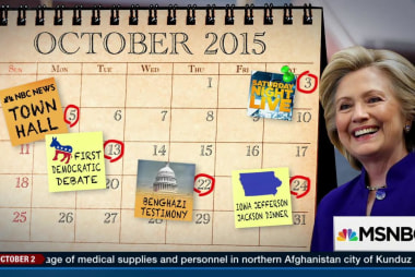 Hillary Clinton's make-or-break month?