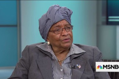Liberian president talks Ebola victory