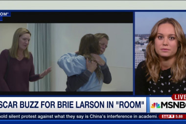 Oscar buzz for Brie Larson in 'Room'