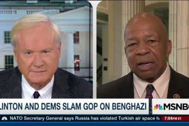Rep. Cummings on Benghazi hearings