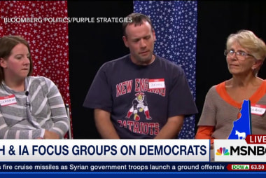 NH & IA focus groups on Democrats