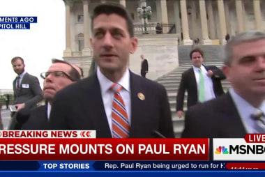 Boehner trying to draft Ryan for speaker
