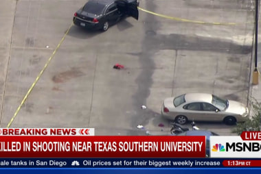 Shooting near Texas Southern University