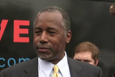 Carson clarifies explosive remarks about guns