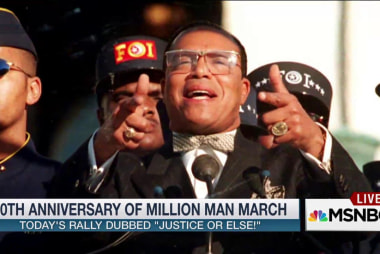 Rally marks Million Man March anniversary