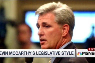 Deep dive into McCarthy's legislative style